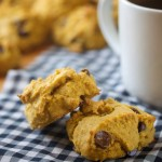 Super Soft Chocolate Chip Pumpkin Cookies