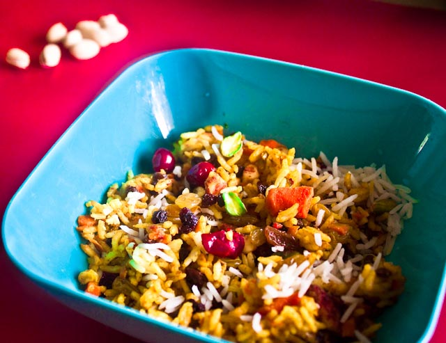 jeweled basmati rice