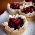 Black Rice Phyllo Tarts