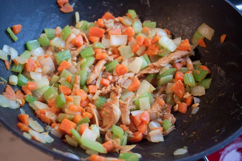 carrots, celery, etc