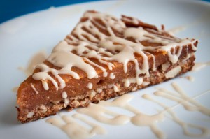 Sweet Potato Tart with Maple Icing