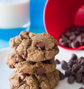 Almondy Chocolate Chip Cookies (GF)