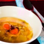 Adzuki Bean and Cabbage Soup