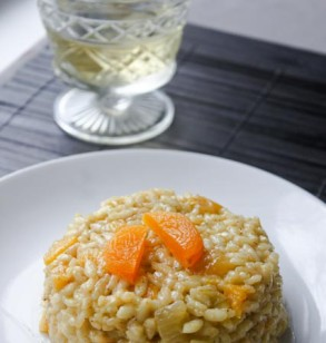 Apricot Risotto & My Frigidaire Flair Oven