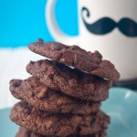 double chocolate chip cookies vegan gluten free-1
