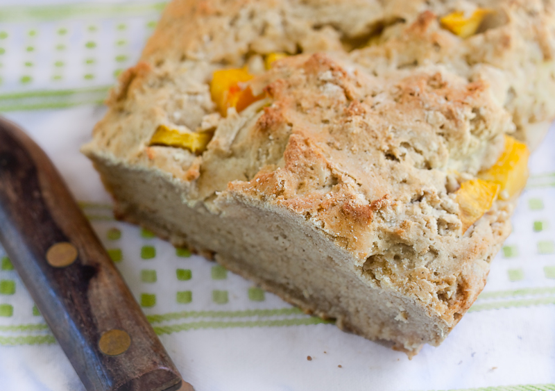 Rustic Peach Bread