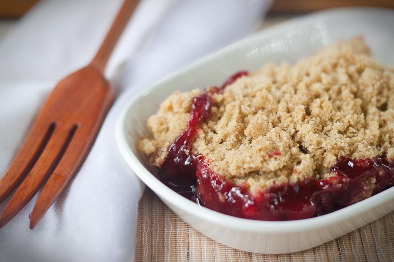 vegan gluten free blackberry cobbler -1