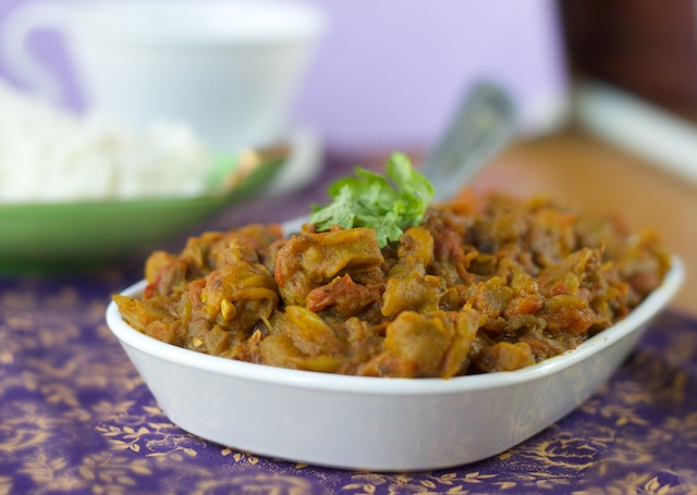 Baingan Bharta (more or less)