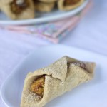 Apricot Nut Roll Cookies