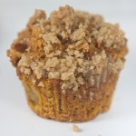 Pumpkin, Black Walnut & Apple Muffins