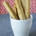 Vanilla Bean Macadamia Biscotti