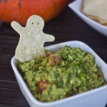 halloween ghost tortilla chips vegan gluten free