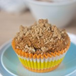 vegan gluten free pumpkin apple black walnut muffins