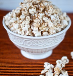Autumn Spiced Popcorn