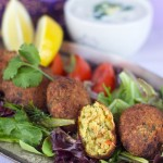 Roasted Red Pepper & Garlic Falafel