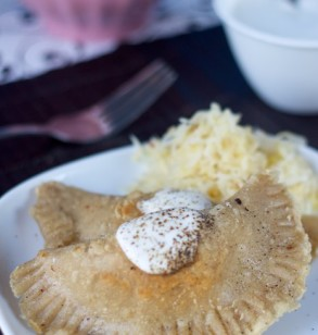 VeganMoFo Pierogi Triple Threat & Giveaway!