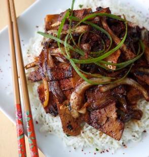 Bulgogi Style Tofu
