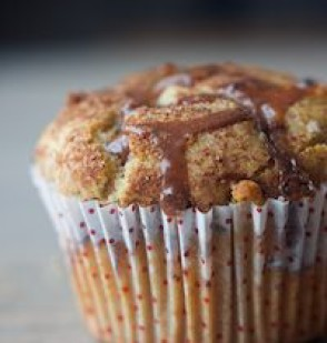 Yeasted Mocha Muffins