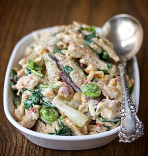 Spring Chickenless Salad