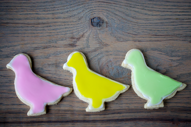 vegan gluten free sugar cookies chicks