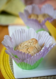 Pineapple Walnut Muffins