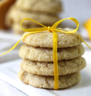 Lemon Olive Oil Cookies