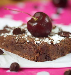 Chocolate Chip Cherry Brownies