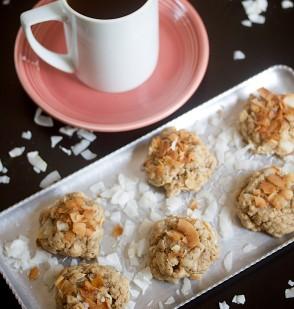 Peanut Butter Coconut Cookies