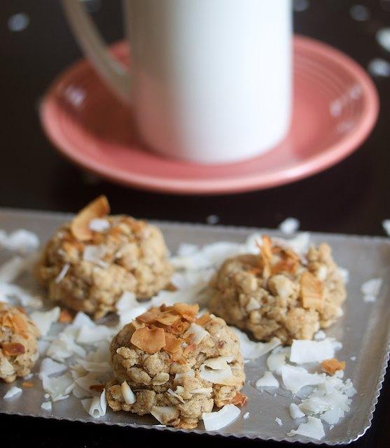 Peanut Butter Coconut Cookies Recipe — Dishmaps