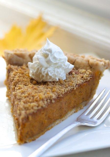 vegan gluten free bourbon pumpkin pie