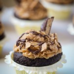Knock Off Butterfinger Cupcakes