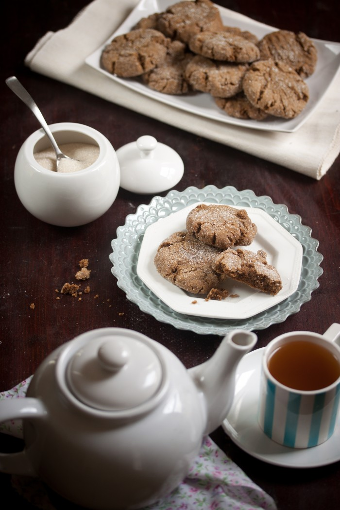 soft and spicy ginger cookies