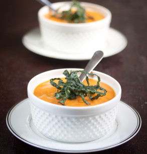 sundried tomato and butternut squash bisque