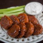 Vegan & Gluten-Free Superbowl Snacks: Buffalo Chickpea Nuggets & Stuffed Jalapenos!