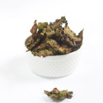 vegan gluten-free cheesy chipotle kale chips  by Allyson Kramer