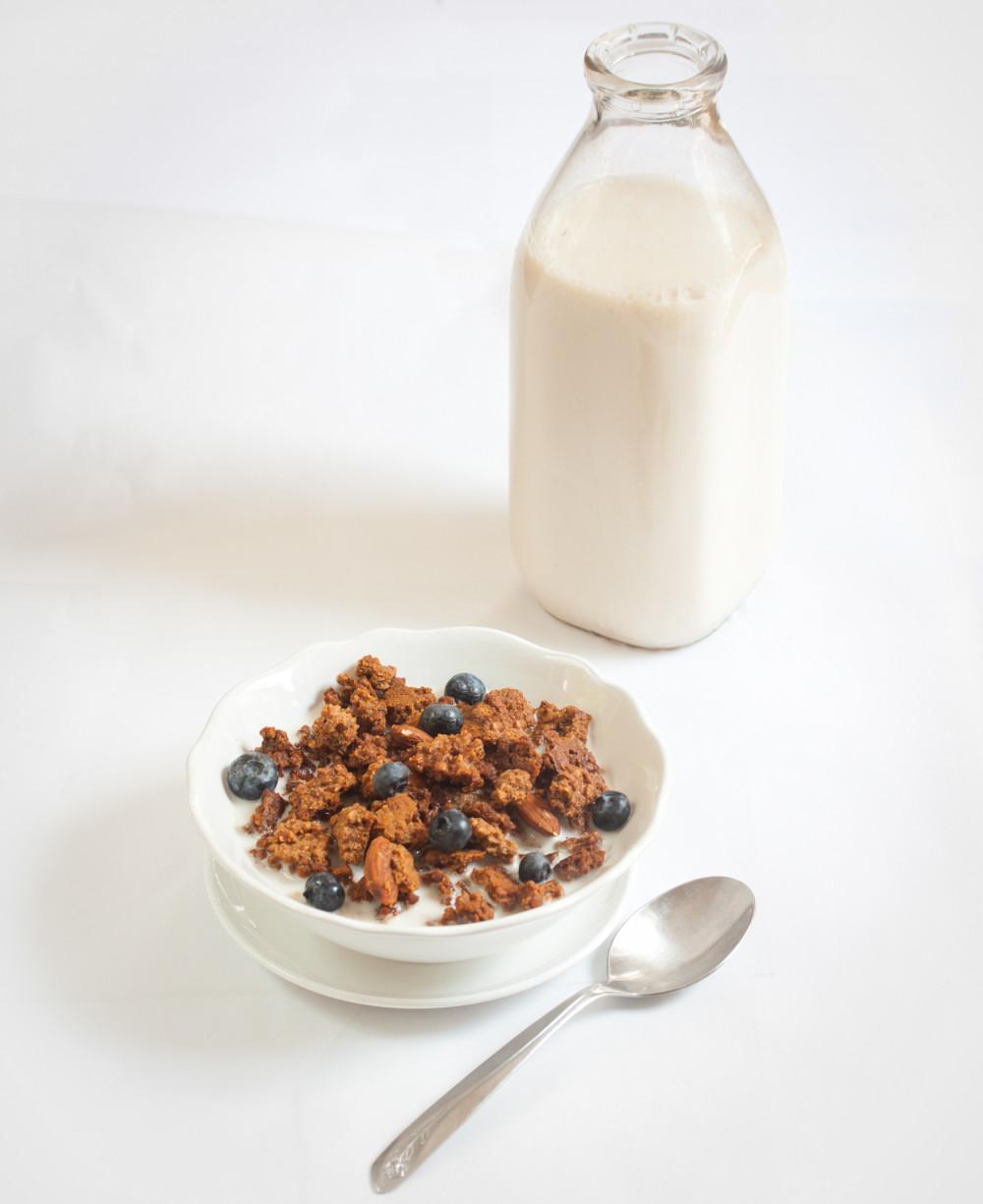 maple nut (oatless) granola--Vegan Gluten-Free Allyson Kramer