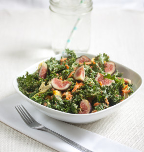 Fig and Kale Salad