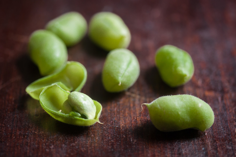 vegan gluten-free green chickpea edamame_