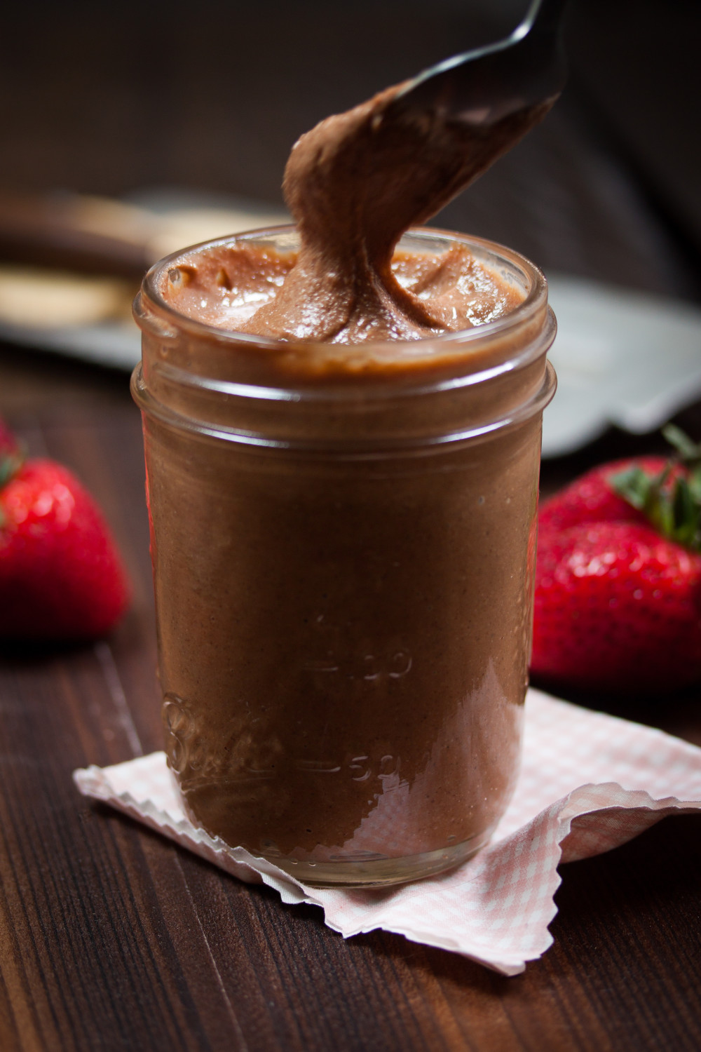 #vegan #gluten-free Salted Chocolate Cashew Butter