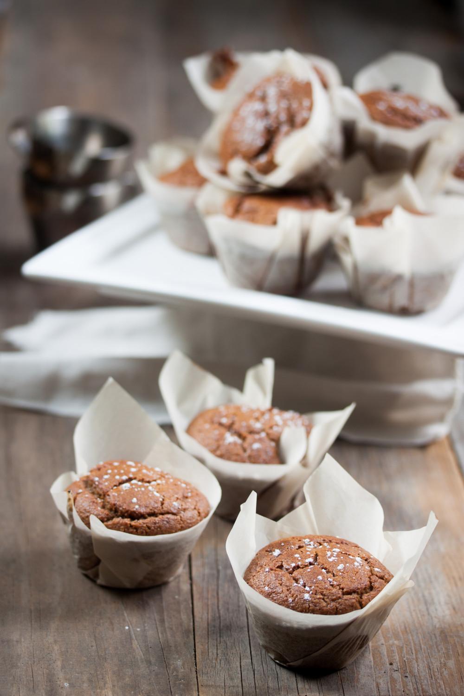 Cinnamon Applesauce Muffins Vegan Gluten-Free