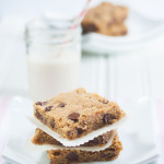Chocolate Chip Peanut Butter Cookie Bars