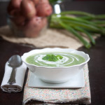 Red Potato & Watercress Soup