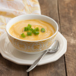 Roasted Butternut Parsnip Bisque