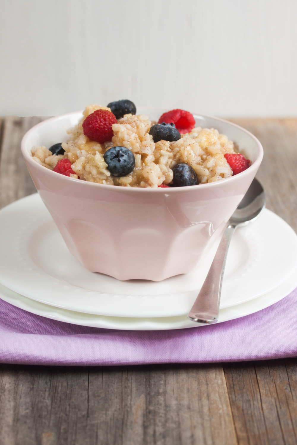 Whole Foods Recipe for Banana Berry Basmati Rice Pudding